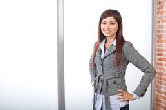 Business woman in modern office Stock Photography