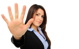 Business woman needs a break Stock Images