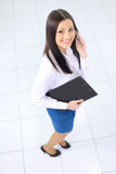 Business woman nice smiles Stock Photo
