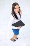Business woman nice smiles Stock Photo