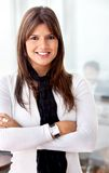 Business woman at the office Royalty Free Stock Images