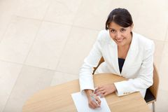 Business woman at the office Stock Photo