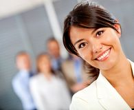 Business woman at the office Stock Photography