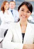 Business woman at the office Royalty Free Stock Photo