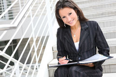Business Woman at Office Stock Photos