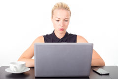 Business woman in office. Stock Photography
