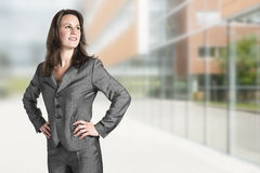 Business woman office stock image