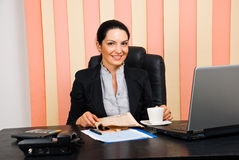 Business woman  office life Stock Photography