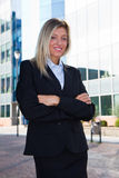Business woman in the office Stock Photo