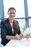Business woman at  office Stock Photo