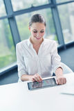 Business woman at  office Stock Image
