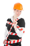 Business Woman Ordering Employees Royalty Free Stock Photo