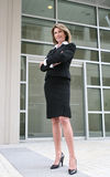 Business Woman Outdoors Stock Photo