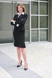 Business Woman Outdoors Royalty Free Stock Photo