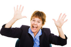Business Woman - Panic Stock Images