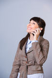 Business woman phone Royalty Free Stock Images