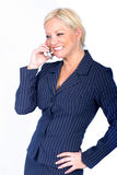 Business Woman on Phone Royalty Free Stock Photo
