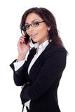 Business woman on Phone Stock Photography