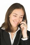 Business woman on the phone Stock Photo