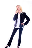 Business Woman on Phone Stock Photos