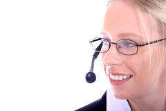 Business Woman on Phone Stock Images