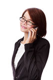 Business woman phone talking Royalty Free Stock Photos