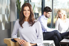 Business woman portait Royalty Free Stock Photography