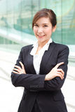 Business woman portrait Stock Images