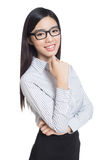 Business woman portrait . crossed arms . Stock Photo