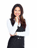 Business woman. Royalty Free Stock Photo