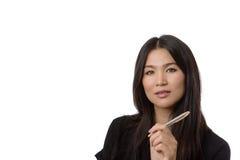 Business woman portrait Stock Photos