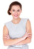 Business woman portrait isolated Royalty Free Stock Images