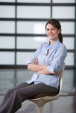 Business woman portrait in a modern office Stock Photo
