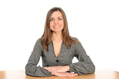 Business Woman Portrait Smiling Royalty Free Stock Photo
