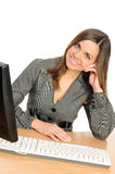 Business Woman Portrait Smiling Royalty Free Stock Photography