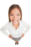 Business woman portrait smiling Stock Photography