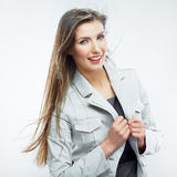 Business woman portrait. Success business. Female model. Royalty Free Stock Images