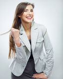 Business woman portrait. Success business. Female model. Stock Images