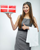 Business woman  portrait. Royalty Free Stock Images