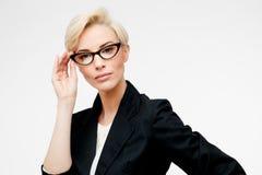 Business woman portrait Stock Images