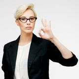 Business woman portrait Royalty Free Stock Photography