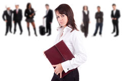 Business woman posing Stock Photos