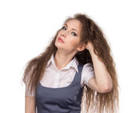 Business woman posing Stock Photography