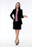 Business woman presenting Royalty Free Stock Photography