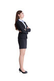 Business woman profile Royalty Free Stock Photo