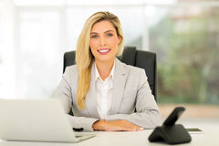 Business woman relaxing Stock Photos