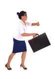 Business woman running late. Stock Photography
