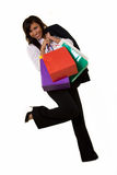 Business woman shopping Royalty Free Stock Photos