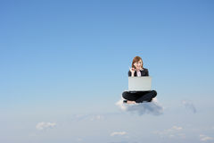 Business cloud concept Stock Photography