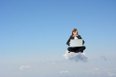 Business cloud concept Stock Image